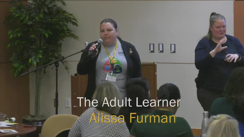 Alissa Adult Learner