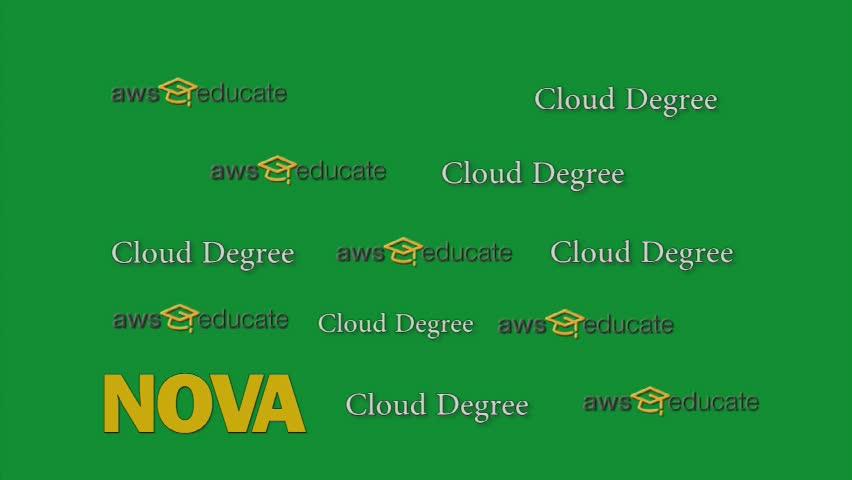 Amazon Web Service and VCCS cloud computing degree programs