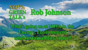 Rob Johnson, Director of Sustainability NOVA