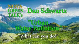 Daniel Schwartz, Urban Water Pollution, What Can You Do?
