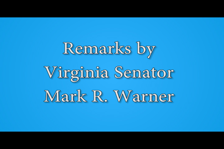 Senator Warner at  Commonwealth Conference on Cyber and Education 2015